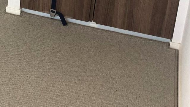 ウール素材のカーペットを敷詰サイズオーダー!なごむナチュラルなインテリアスタイル