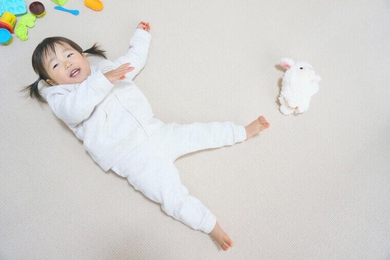 子供部屋にもご使用いただける日本製カーペット