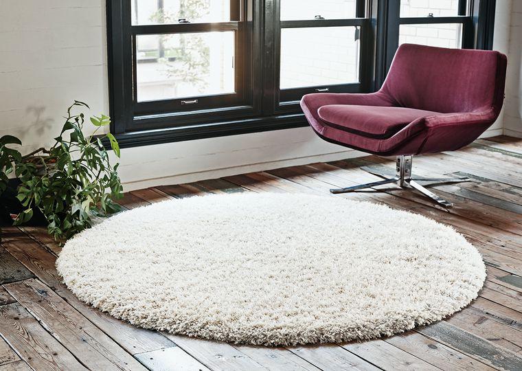 円形 床暖対応ラグ・カーペット「ALTE/アルテ」は大人の雰囲気としっかりとした踏み心地