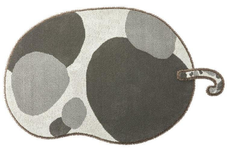 130×185cm ブラック