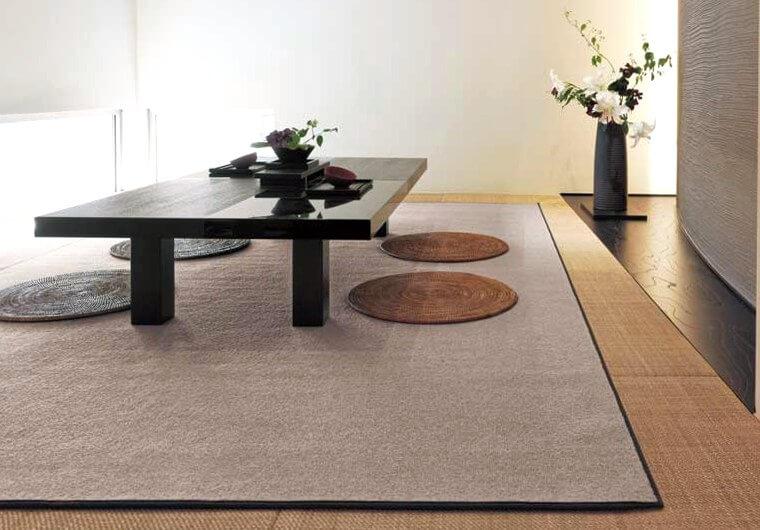 ウールカーペット・絨毯 オーダー対応「COUNTRY/カントリー」は汚れにくくオールシーズン使える高品質の天然素材