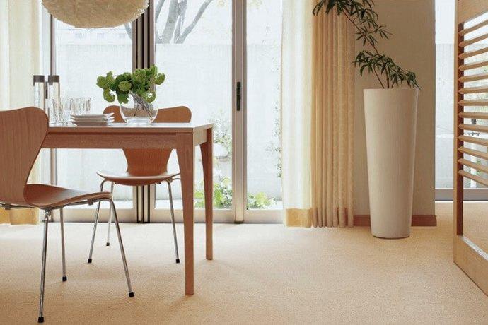 ウールカーペット・絨毯 オーダー対応「CRAFT/クラフト」は染色をしていない英国羊毛を50%以上使用