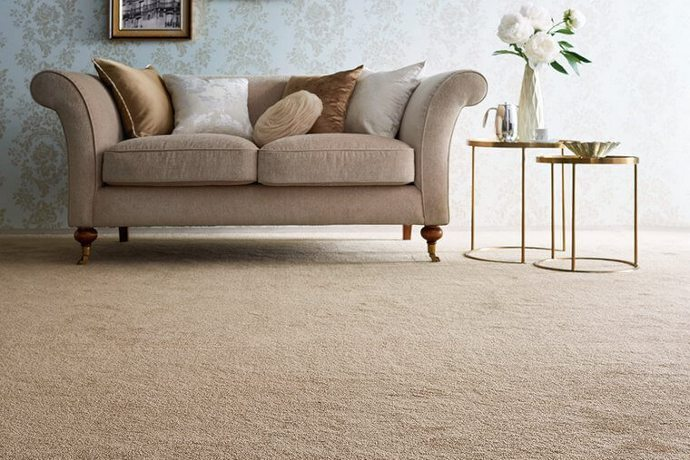カーペット・絨毯 オーダー対応「FIL/フィル」は満ち足りたモダンな色合いのショートシャギータイプ