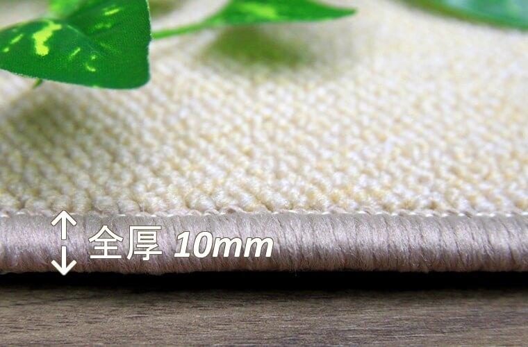 ナイロン100% ループパイル 4.5mm/全厚10mm