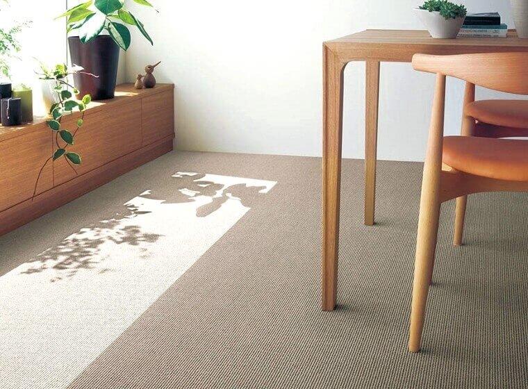 ストライプ柄カーペット・絨毯 オーダー対応「KEITH/キース」は汚れに強い防汚機能付き