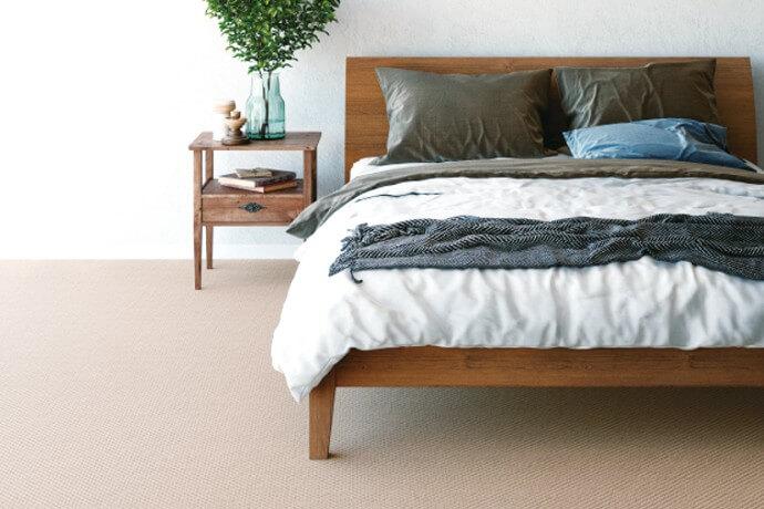 ウールカーペット・絨毯 オーダー対応「LIZARD/レザード」は高級感を演出するドット柄がポイント