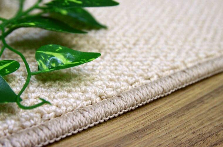 大きめのループのパイル(糸)のカーペット