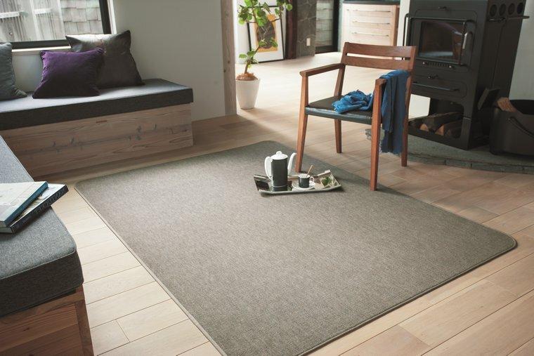 薄手低価格カーペット・絨毯 オーダー対応「MUVA/ムーヴァ」は厚みが薄く機能性も充実!優れた耐久性でフローリングの傷対策に