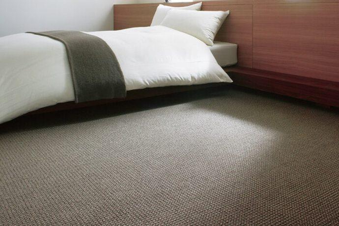 カーペット・絨毯 オーダー対応「NEWTIM/ニューティム」は和室に調和する3種類のループパイル糸!消臭機能