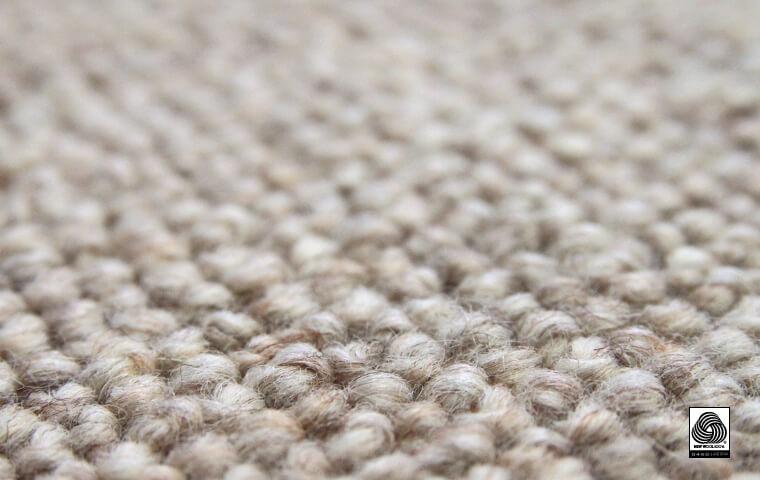 ウール繊維ループパイル