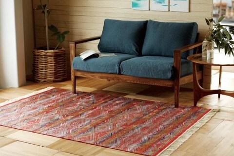 モケット織りラグ『SAFIR/サファイア』の商品画像