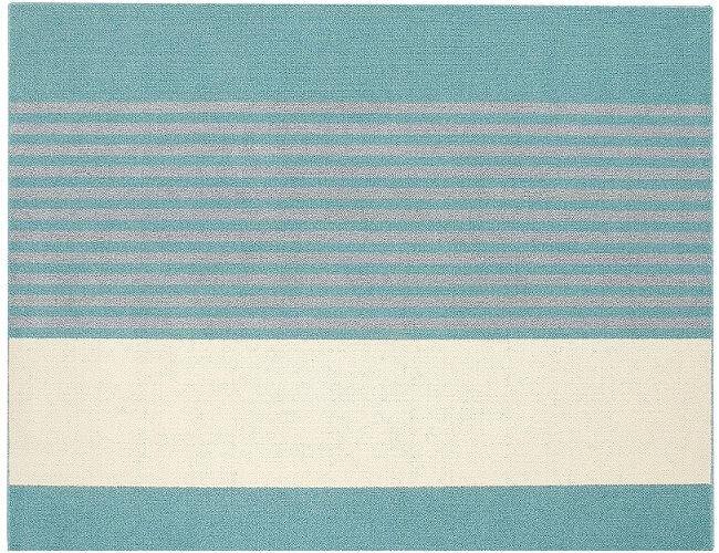 130×185cm ブルー