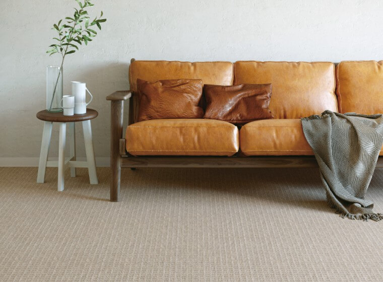 低価格ウール(混)カーペット・絨毯 オーダー対応「STOW/ストー」は薬品・カビに強い化学繊維をミックス