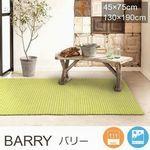 北欧系カラー 平織り【4色・2サイズ】 ラグ『BARRY/バリー』の商品画像