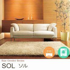 40mmロングシャギー サイズオーダー【6色】 ラグ『SOL/ソル』の商品画像