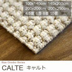 【4色】遊び毛防止・防炎 低価格 カーペット『CALTE/キャルト』の商品画像
