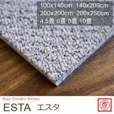 【3色】防音対策 遊び毛無し カーペット『ESTA/エスタ』の商品画像