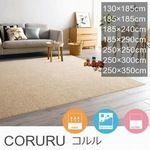 250cm×350cm ラグ『CORURU/コルル』の商品画像