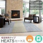 190cm×240cm ラグ『HEATS/ヒートス』の商品画像