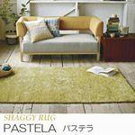 北欧カラー 20mmシャギー【4色・5サイズ】 ラグ『PASTELA/パステラ』の商品画像