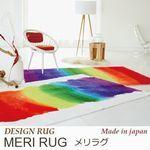 存在感のある絵画のようなアーティスティックな1枚 ラグ『MERI RUG/メリラグ』の商品画像