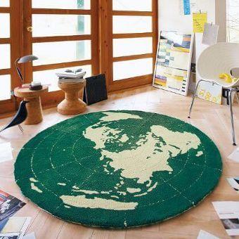 円形ラグマット『EARTH/アース』の商品画像
