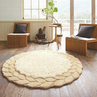 円形ラグマット『SABLE/サブレ』の商品画像