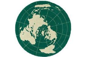 EARTH/アース  円形ラグマットの生地拡大画像