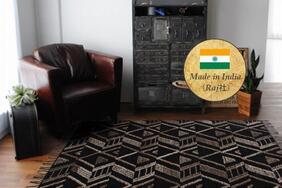 ラグ・カーペット・マット「ENZO/エンツォ」はお部屋の印象を一新させるインパクトのあるエスニックデザイン