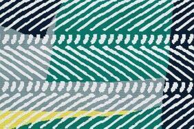 FISHBONE/フィッシュボーン  北欧調ラグマットの生地拡大画像
