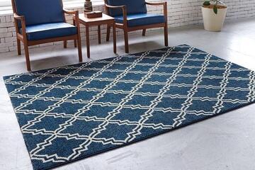 ベルギー製ラグ・絨毯「FLEUR/フルール」