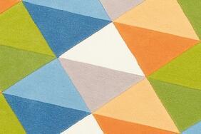 FRUIT GARDEN/フルーツガーデン  円形ラグ・マットの生地拡大画像