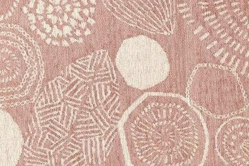 FRUIT NUT/フルーツナット  円形ラグ・マットの生地拡大画像