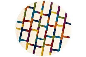 LOCOPE/ロコッペ  円形ラグマットの生地拡大画像