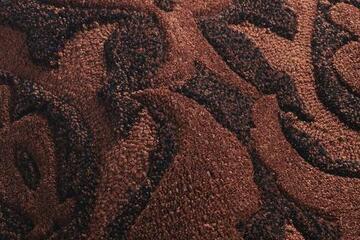 BOUQUET/ブーケ  花柄ラグマットの生地拡大画像