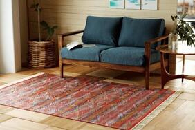 モケット織りラグ・マット「SAFIR/サファイア」は気品ある洗練されたベルギー製のデザイン