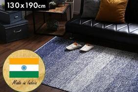 インド製ラグマット「ZIO/ジオ」はインテリアの基本「オシャレは、足元から」を促せる1枚