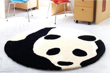 ラグ「PANDA/パンダ」