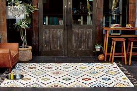 エスニック風ラグマット・絨毯「RICORDO/リコルド」