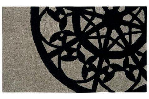 70×120cm モダンでおしゃれなレース柄 玄関マット『FELLOW/フェロー ミニ』の商品画像