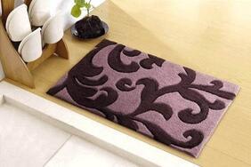 玄関マット「KARAKUSA/カラクサ ミニ」はエレガントでゴージャスな高密度のフック織り