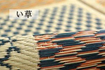 国産市松模様い草カーペットの詳細画像