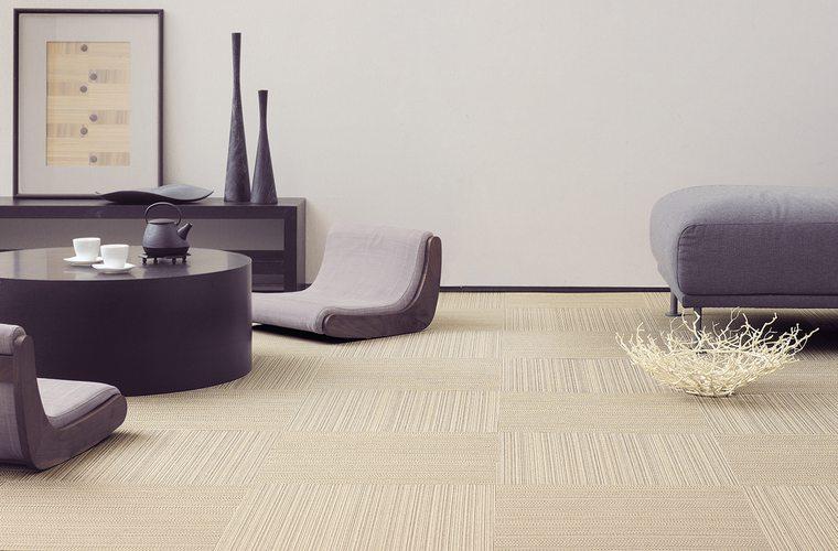 手軽に畳気分を味わう新しい床材