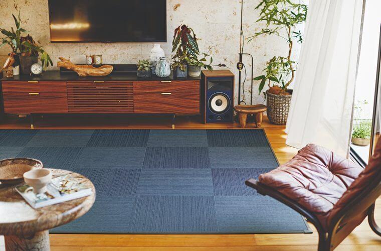 防汚タイルカーペット「GLANZ/グランツ」は手軽に畳気分を味わえる新しいスタイル