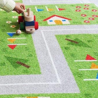 タイルカーペット『キッズロード』の商品画像