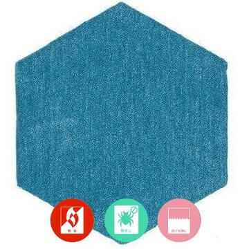 ROKKAKU/ロッカク オシャレなデザインタイルカーペットの商品生地画像