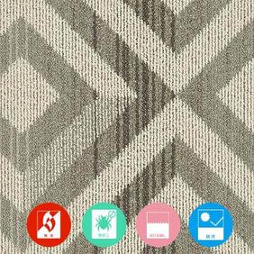 WAM/ワム 洗えるタイルカーペットの商品生地画像
